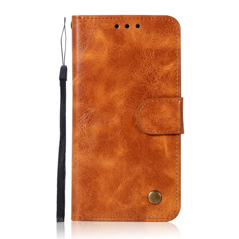 Extravagant Retro Fashion Flip Leather Case PU Wallet Cover Cases For Samsung Galaxy S6 Phone Bag with Stand - CITRUS