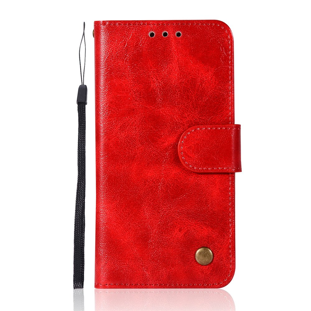 Extravagant Retro Fashion Flip Leather Case PU Wallet Cover Cases For Samsung Galaxy S5 Phone Bag with Stand - RED