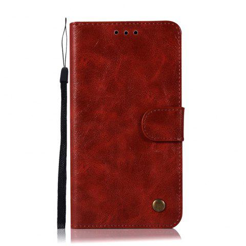 Extravagant Retro Fashion Flip Leather Case PU Wallet Cover Cases For Samsung Galaxy Note 5 Phone Bag with Stand - WINE RED