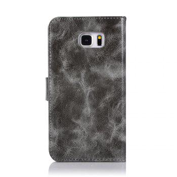 Extravagant Retro Fashion Flip Leather Case PU Wallet Cover Cases For Samsung Galaxy Note 5 Phone Bag with Stand - GRAY