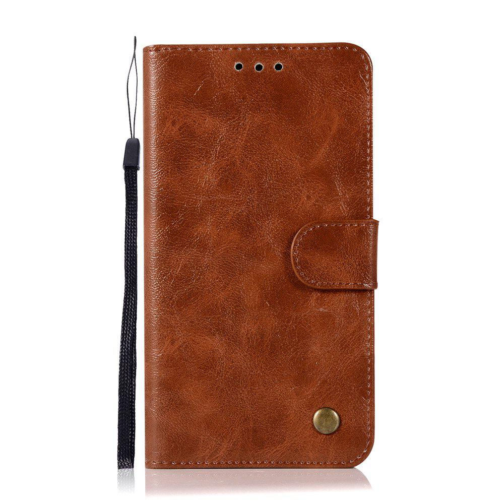 Extravagant Retro Fashion Flip Leather Case PU Wallet Cover Cases For Samsung Galaxy Note 5 Phone Bag with Stand - BROWN