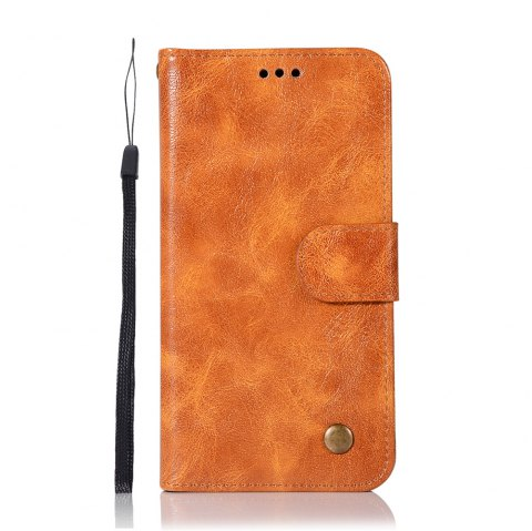 Extravagant Retro Flip Leather Case PU Wallet Cover Cases For Samsung Galaxy Xcover 4 / G390F Phone Bag with Stand - CITRUS
