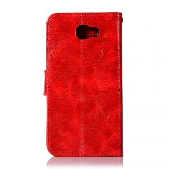 Extravagant Retro Flip Leather Case PU Wallet Cover Cases For Samsung Galaxy Xcover 4 / G390F Phone Bag with Stand - RED