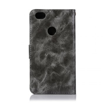 Extravagant Retro Fashion Flip Leather Case PU Wallet Cover Cases For Xiaomi Redmi Note 5A Phone Bag with Stand - GRAY