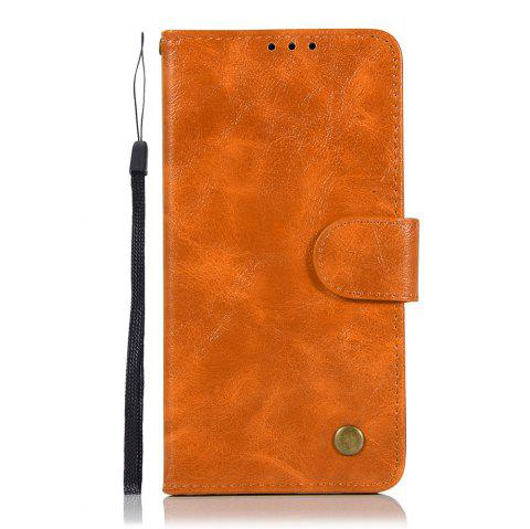 Extravagant Vintage Fashion Flip Leather Case PU Wallet Cover Cases For LG X Style K200DS 5.0 inch Phone Bag with Stand - CITRUS