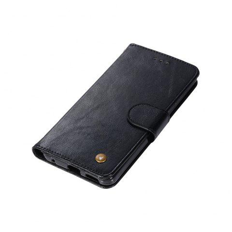 Extravagant Retro Fashion Flip Leather Case PU Wallet Cover Cases For LG G6 5.7 inch PPhone Bag with Stand - BLACK