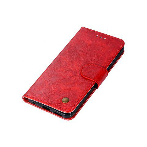 Extravagant Retro Fashion Flip Leather Case PU Wallet Cover Cases For LG G6 5.7 inch PPhone Bag with Stand - RED