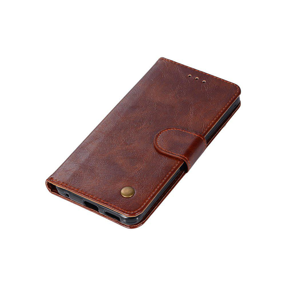 Extravagant Retro Fashion Flip Leather Case PU Wallet Cover Cases For LG G6 5.7 inch PPhone Bag with Stand - BROWN