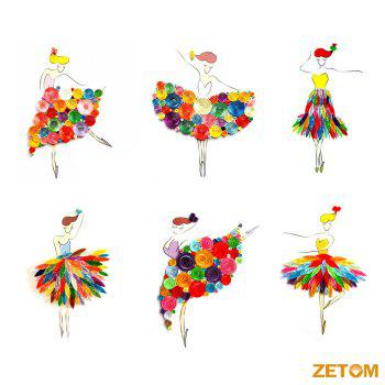 ZETOM 36 Colors 21 inch 4 Widths Quilling Paper 720 Paper Quilling Strips Set with 16 Paper Quilling Template Patterns - RED
