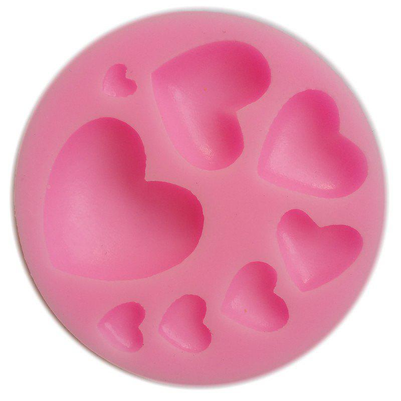 Facemile Heart Silicone Fondant Cake Cupcake Jelly Tray Pan Mold Silicone DIY Tool Chocolate Mold Baking Decoration Tool 245096501