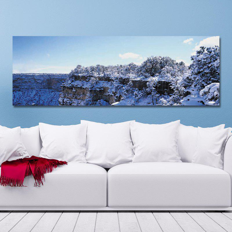 DYC 10368 Landscape Snow Capped Mountains Print Art - COLORMIX 30 X 90CM