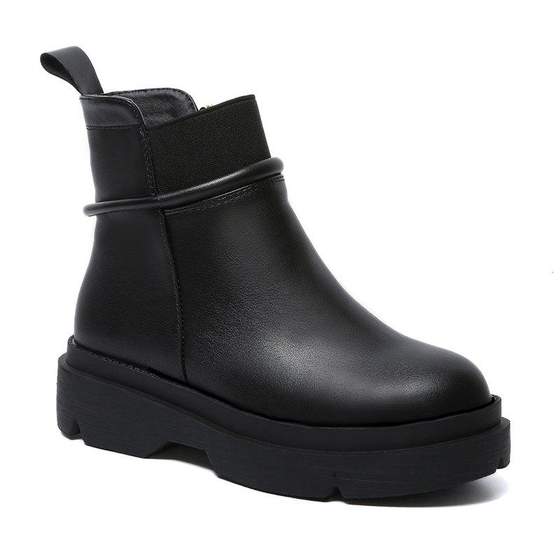 Soft Rubber Sole Antiskid Fashion Short Tube Martin Boots