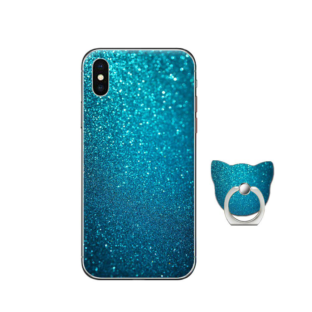 цены Case for iPhone X with Cat Pattern Cell Phone Ring Stand Holder 360 Degree Rotation