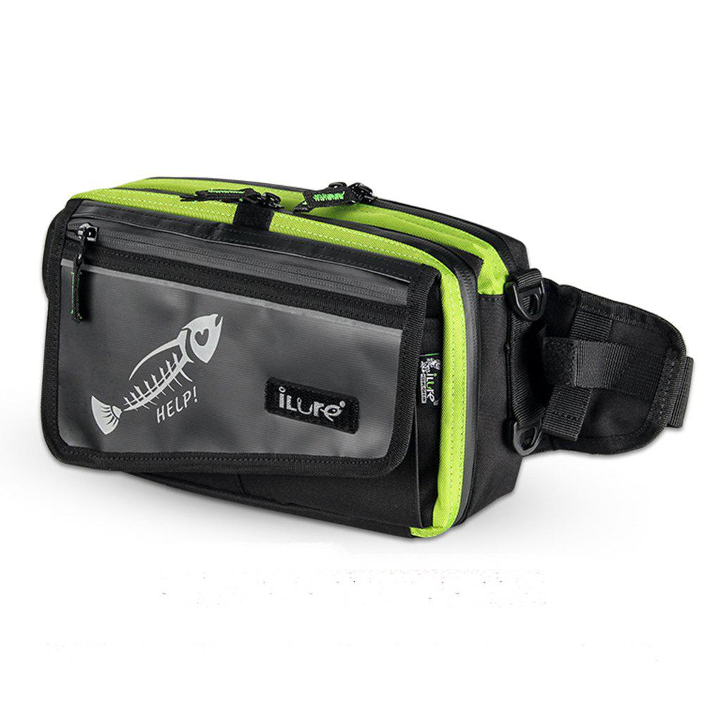 Ilure HELP Waist Fishing Bag - NEON GREEN