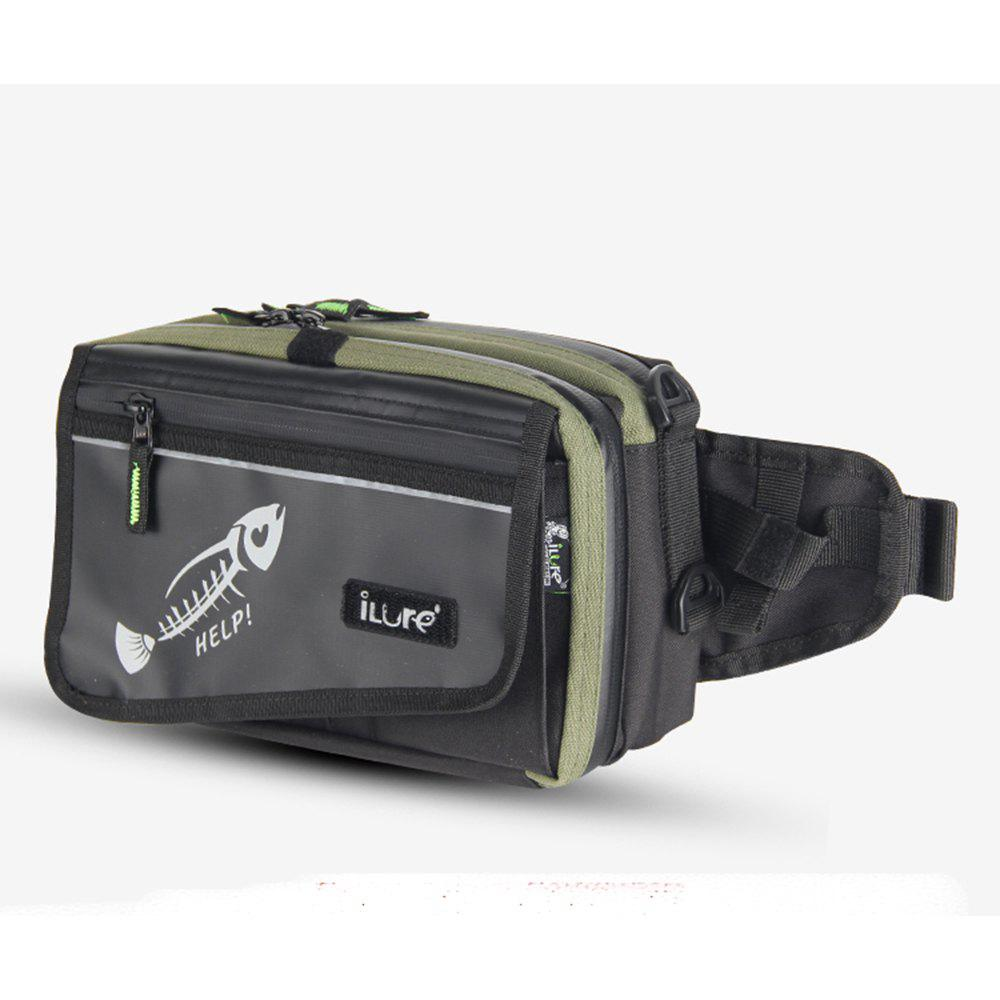 Ilure HELP Waist Fishing Bag - ARMYGREEN