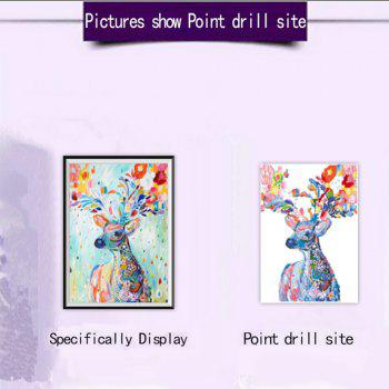 NAIYUE 8860 Color Deer Animal Print Draw Diamond Painting Diamond Embroidery -  COLORMIX
