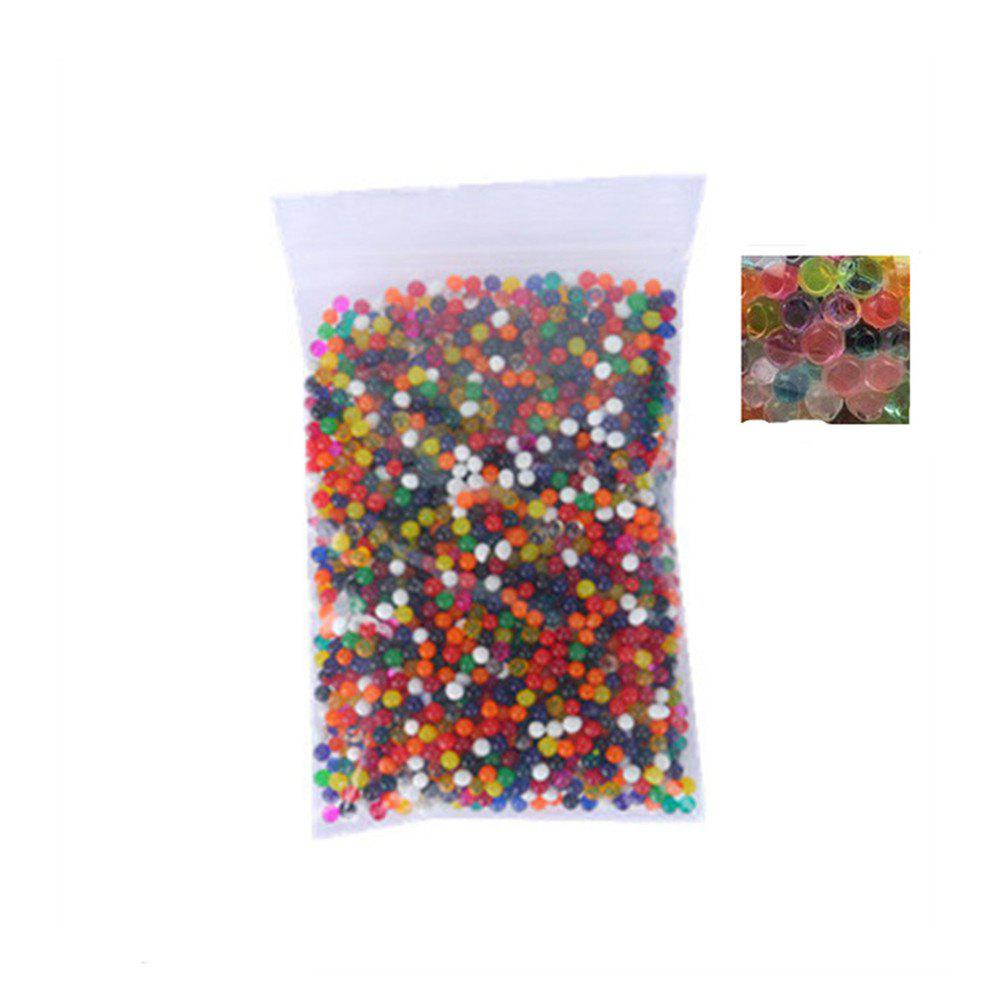 3000PCS Soft Crystal Soil Grow Hydrogel Water Gun Bullet Toy Beads Plant Flower Cultivate Mud Magic Ball Home Decor 400pcs gun water ball orbeez balls soft paintball gun pistol soft bullet cs water crystal gun outdoors toy sports toys