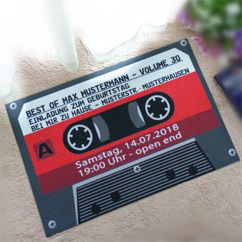 Creative Music tapes  Pattern Antiskid Floor Mat - COLORMIX