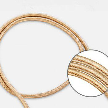 High Quality Quick Knitting Cable for type-c - EARTHLY GOLD