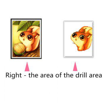 NAIYUE 8533 Squirrel Animal Print Draw 5D Diamond Painting Diamond Embroidery -  COLORMIX