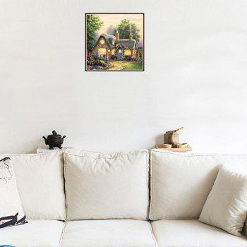 Naiyue S029 Courtyard Small House Print Draw Diamond Drawing - COLORMIX COLORMIX
