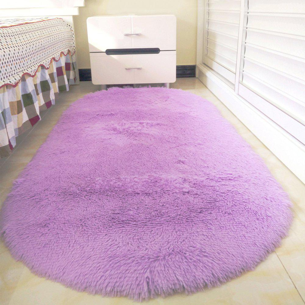 Washable Throw Rugs On Sale: 2018 Home Bedside Floor Rug Simple Solid Washable Soft