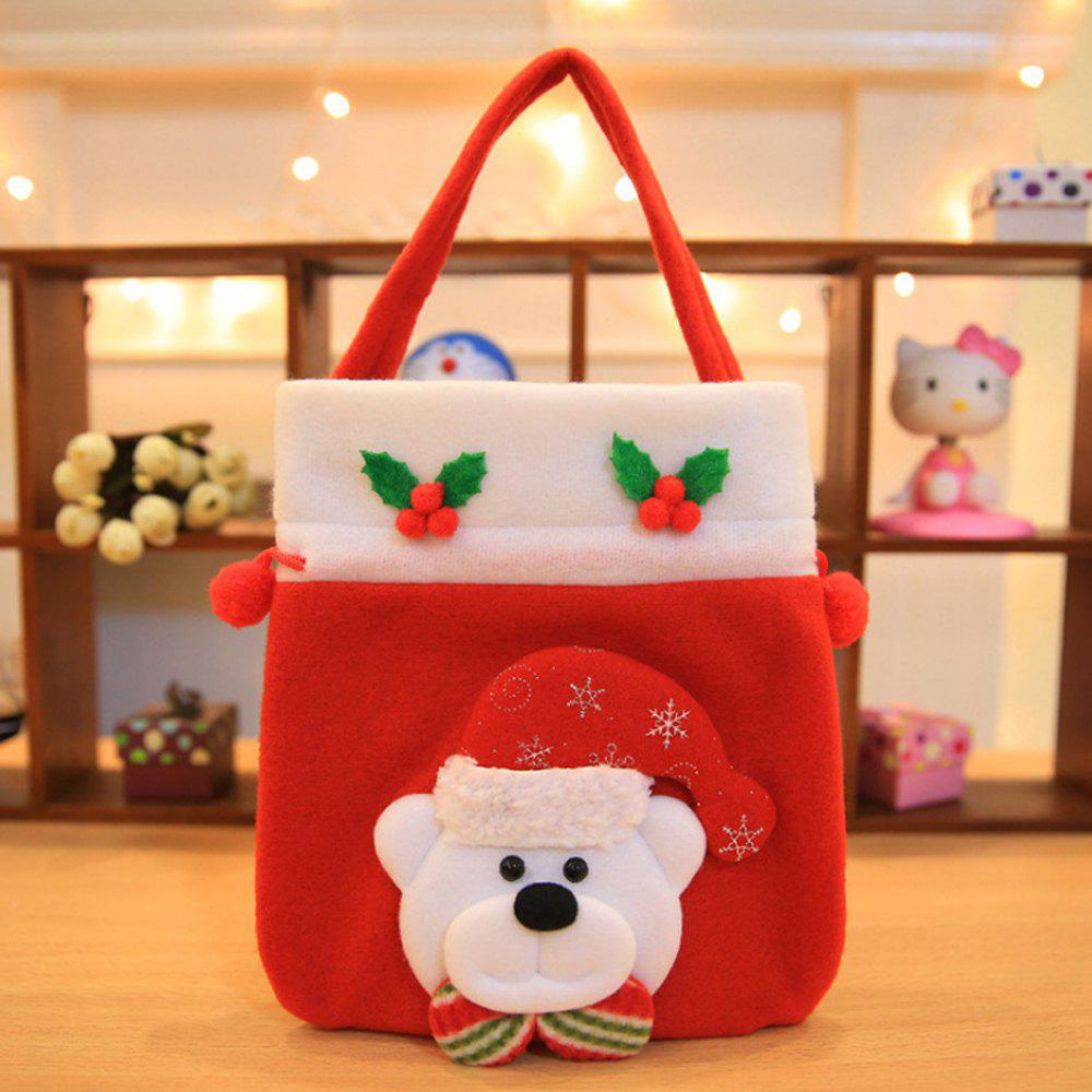 2018 Christmas decoration Brushed candy Candy bag Children ...