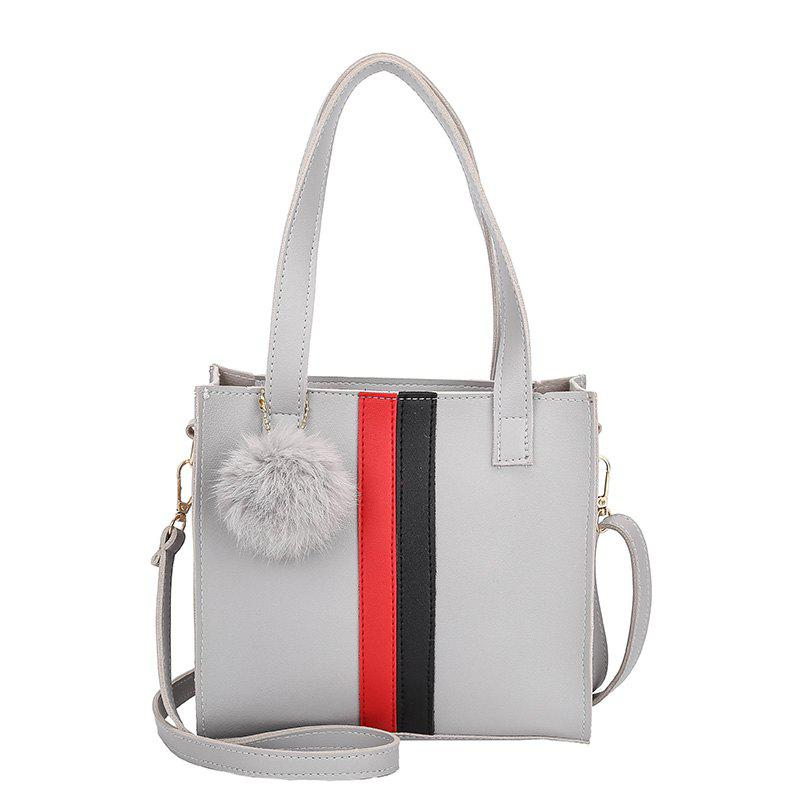 Handbags Small Square Package Mini Bag Handbag Shoulder Bag Messenger Bag - LIGHT GRAY