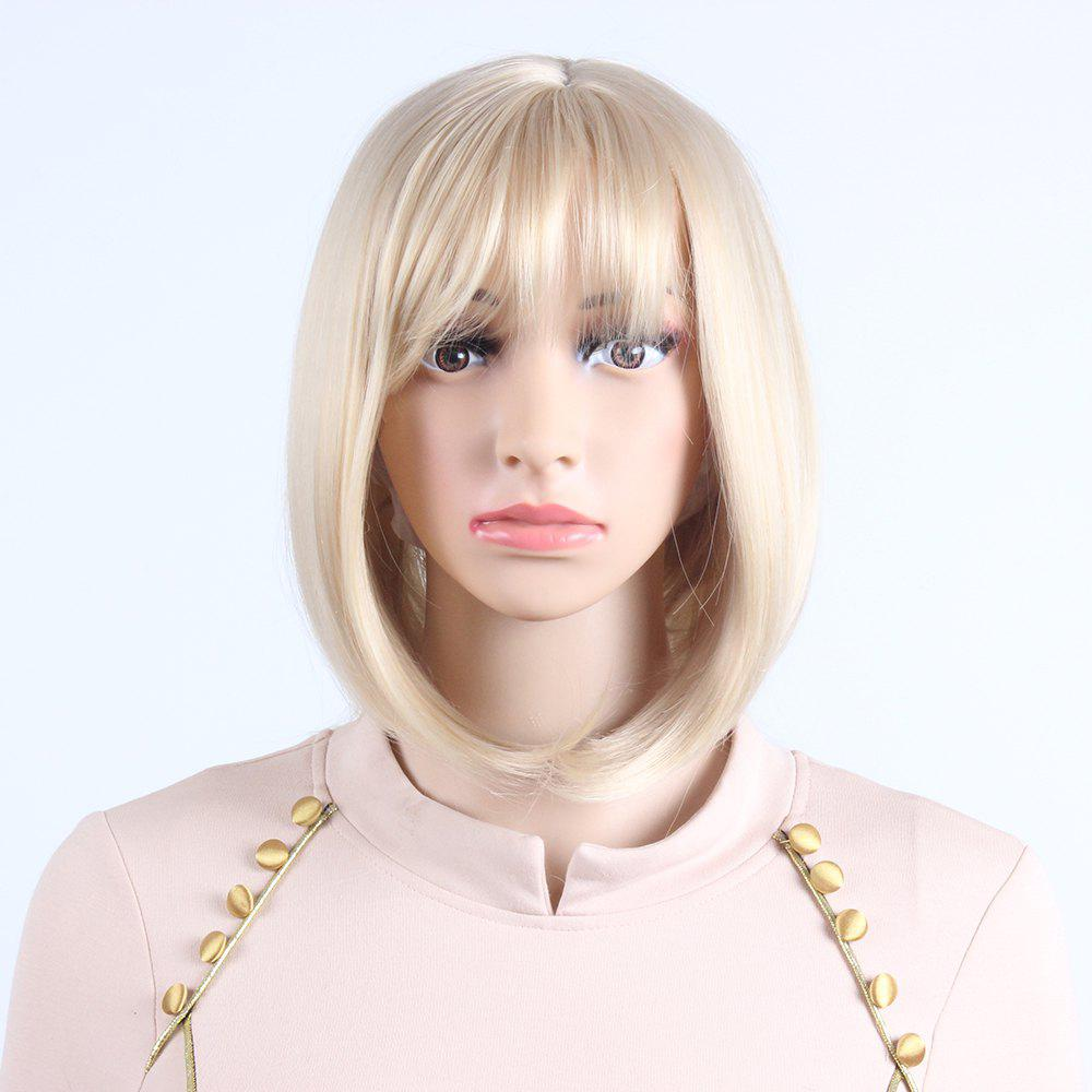 Blonde Bob Wavy Style Heat Resistant Synthetic Hair Wigs For womens SW0020 short blonde wigs women cheap synthetic wigs for black women african american short bob hair wigs blonde short cosplay wig