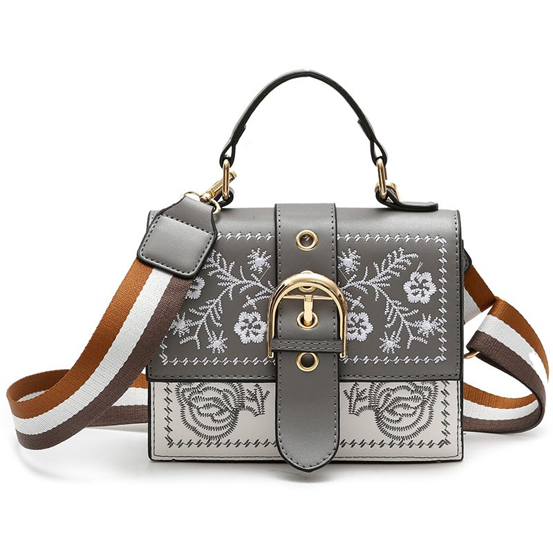Wild Messenger Shoulder Fashion Handbag Small Package - GRAY