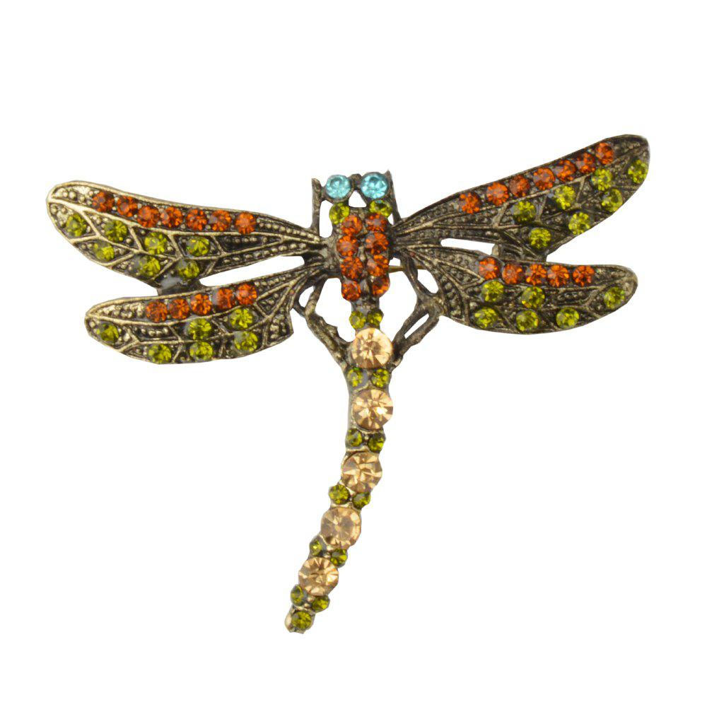 High Quality Crystal Dragonfly Brooches for Women Girl high quality crystal dragonfly brooches for women girl