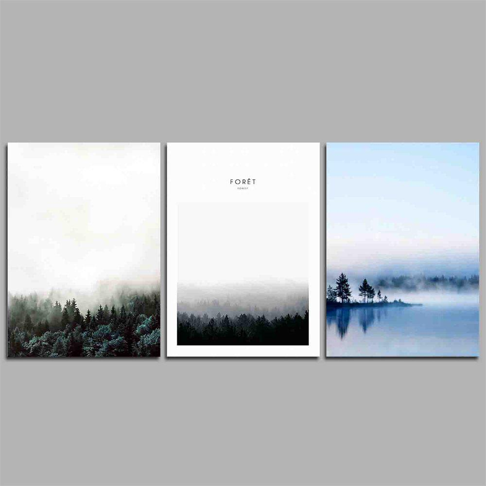 2018 Hua Tuo Landscape Style Stretched Frame Ready To Hang Size 50 x ...