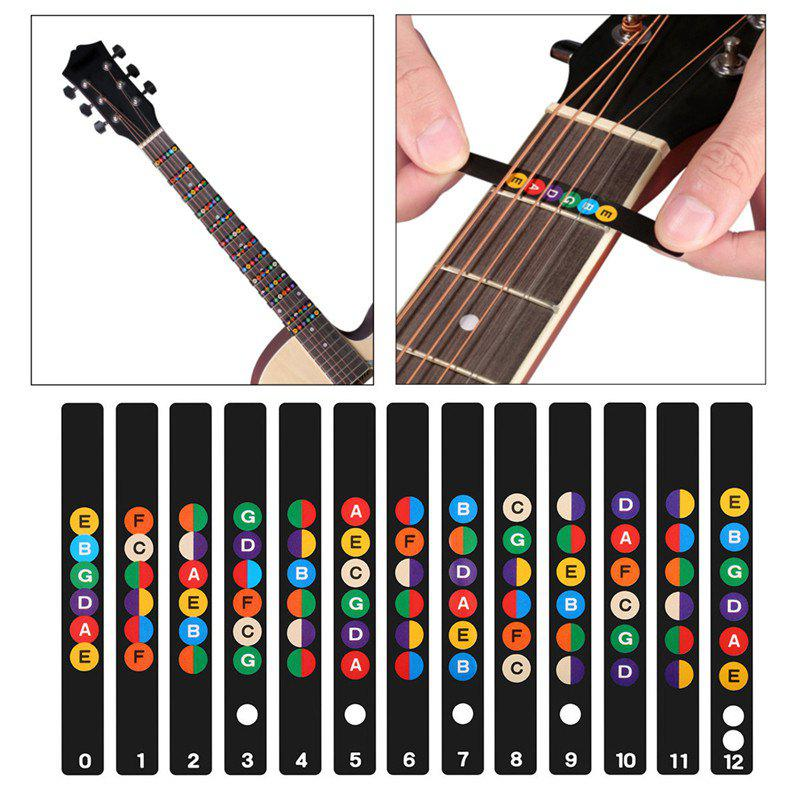 Guitar Fretboard Note Decals Fingerboard Frets Map Sticker велосипед haibike rookie 4 20 2015