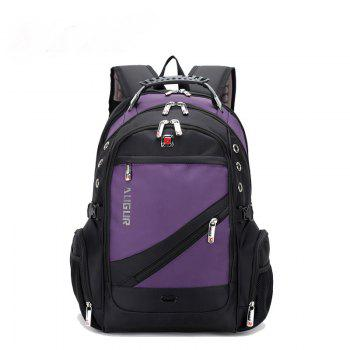 AUGUR Men Backpack Large Capacity Oxford Cloth