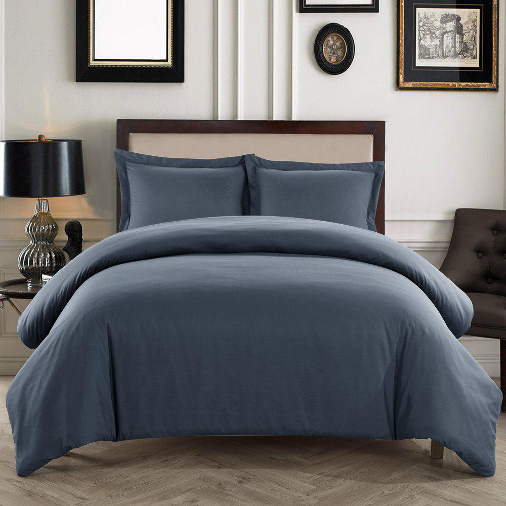 The Explosion of Textile Plain Sanding Pillowcase Three Piece Hot Bed