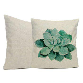 Pillow Cover Green Lotus Home Decor Pillow Cases - WHITE 16INCHX16INCH