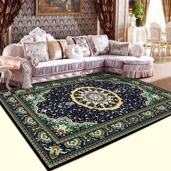 Home Decorative Rug Classic Style Flowers Pattern Antiskidding Mat - COLORMIX 140X200CM