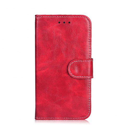 Flip Case for Huawei Y5 II Leather Case Cover for Huawei Y5 II/CUN-U29 /Honor 5A/LYO-L21 Protective Bags - RED