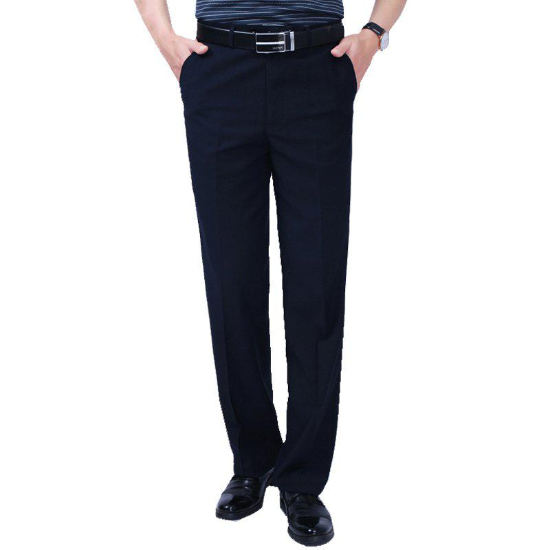 Business  Trousers - DARK BLUE 38