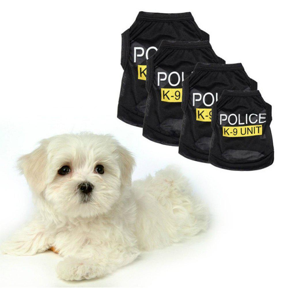 Pet Dog Vest Clothes Puppy T-Shirt Coat Summer Apparel Costumes Black mantra торшер mantra loewe 4738