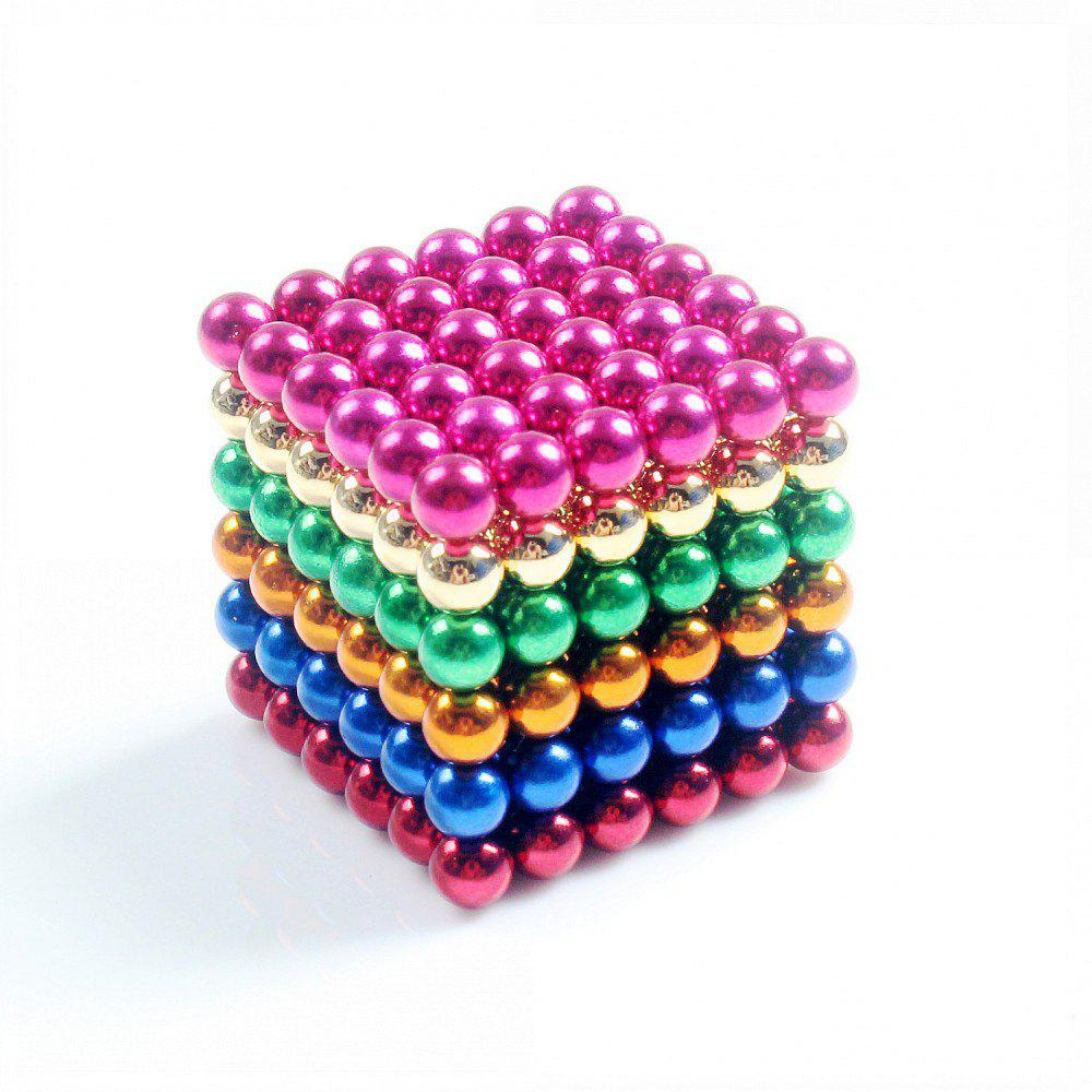 Magnetic Balls (5MM Set of 216 Balls) DIY Multicolor Stainless Steel  Sculptures  Healing  Creative Toys Magic Cube diy stainless steel motor universal coupling 5 x 5mm