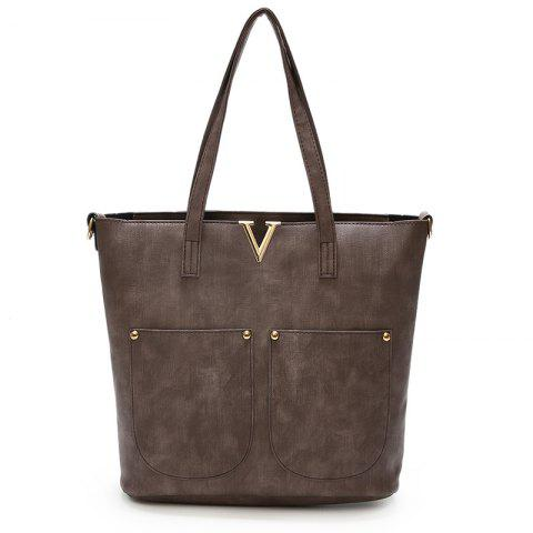 Handbags Tide Large Capacity Fashion Wild Child Package - BROWN