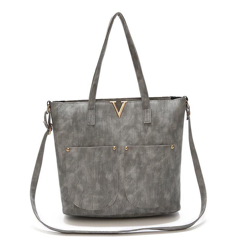 Handbags Tide Large Capacity Fashion Wild Child Package - GRAY