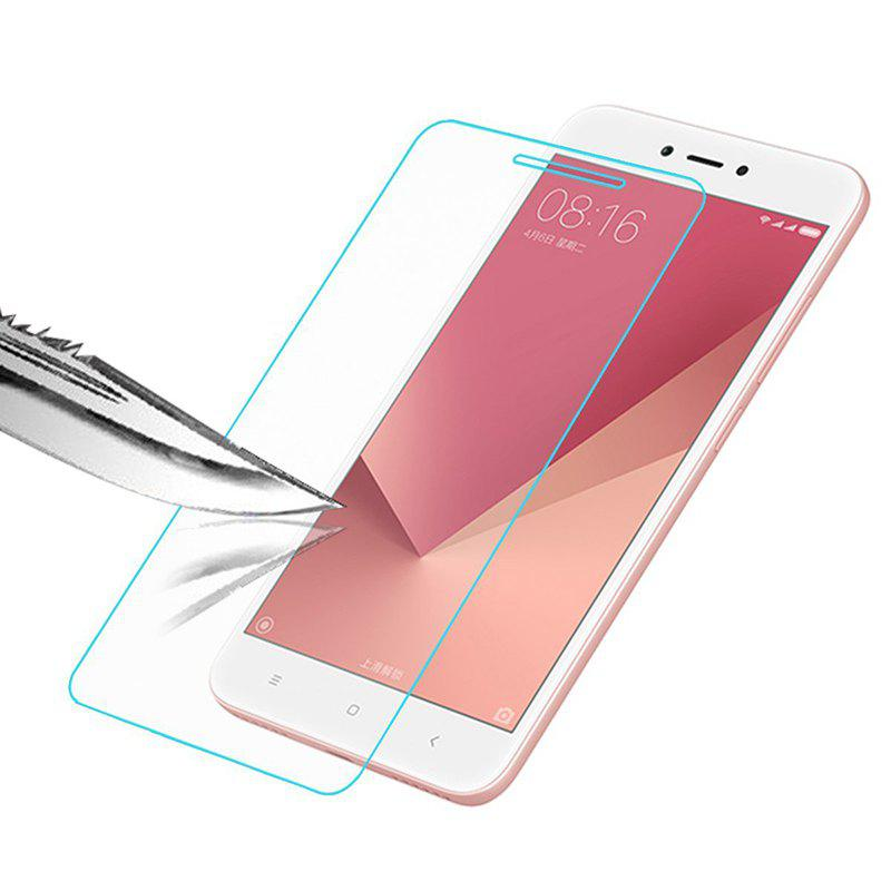 Tempered Glass Screen Protector Protective Film for XiaoMi Redmi Note 5A - CLEAR WHITE