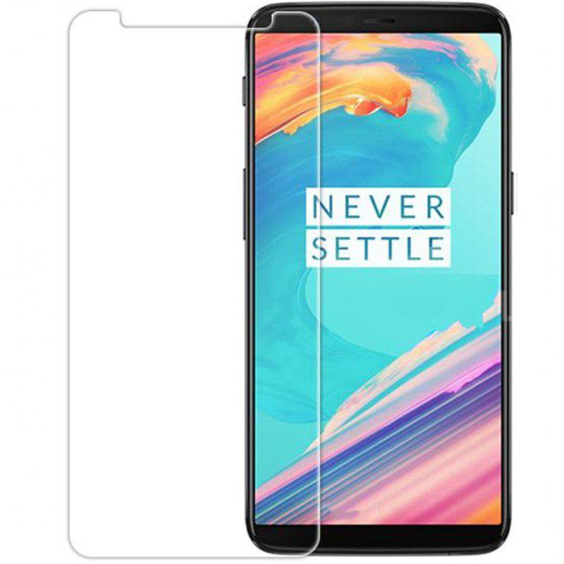 Tempered Glass Screen Protector for Oneplus 5T - CLEAR WHITE