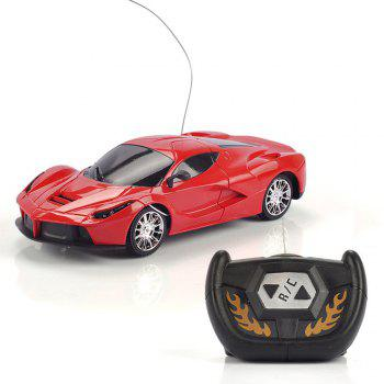 1:24 Scale Children Remote Control Toys Model Wireless RC Car - RED