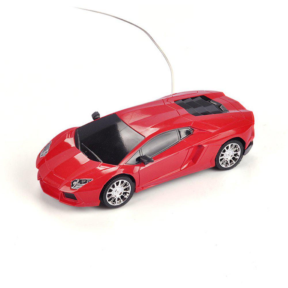 Manufacturers Selling Two-way Remote Control Car Share not Bag Wholesale Children Electric Remote Control Toy Car Model - RED
