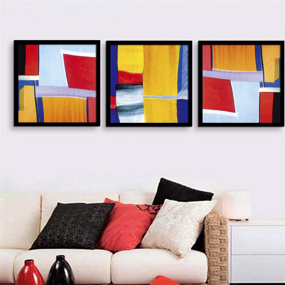 2018 Special Design Frame Paintings Irregular pattern Print 3PCS ...