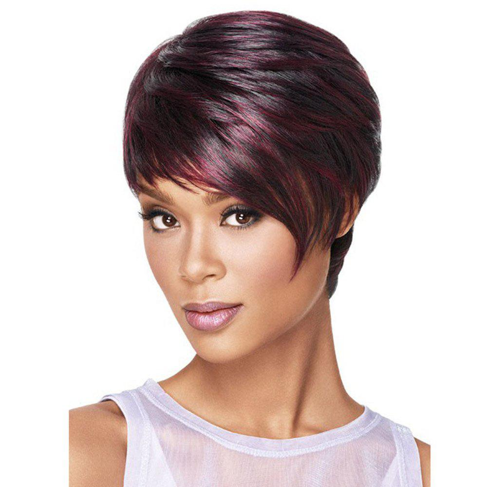 Women's Fashion Rose Network Straight Hair Wig Short Wigs стоимость
