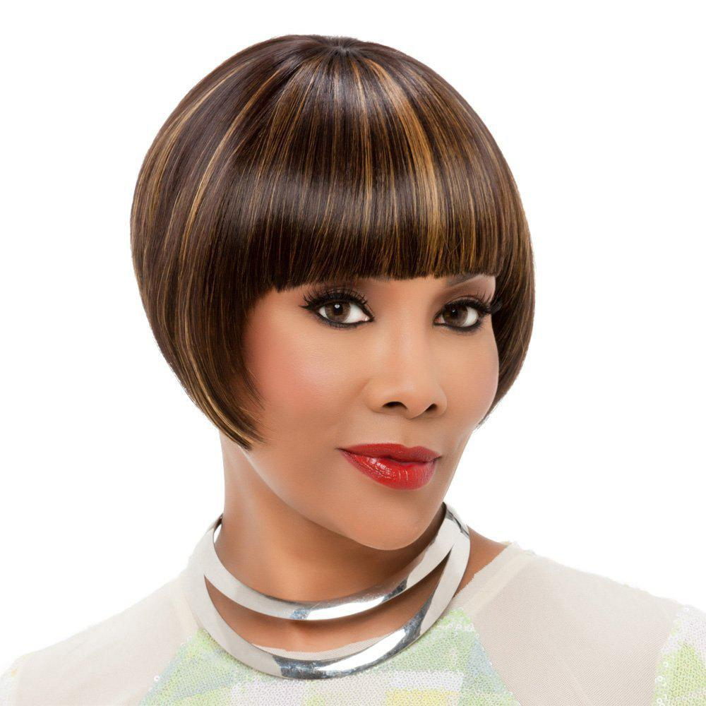 Women's Short Wigs Bob Layered Synthetic Daily Straight Hair Wigs short blonde wigs women cheap synthetic wigs for black women african american short bob hair wigs blonde short cosplay wig